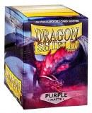 Dragon Shield Matte Purple Sleeves 100 ct