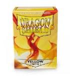 Dragon Shield Yellow Matte Protective Sleeves 100ct