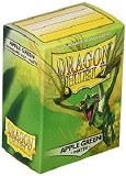 Dragon Shield Apple Green Matte Protective Sleeves 100ct