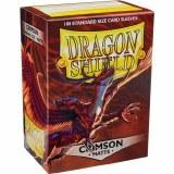 Dragon Shield Matte Crimson Sleeves 100 ct