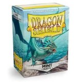 Dragon Shield Mint Green Matte Protective Sleeves 100ct