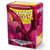 Dragon Shield Magenta Matte Protective Sleeves 100ct