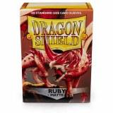 Dragon Shield Matte Ruby Sleeves 100 ct