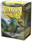 Dragon Shield Olive Matte Sleeves 100 Count