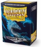 Dragon Shield Night Blue Matte Sleeves 100 Count