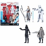 Star Wars The Last Jedi Battle on Crait AF 4 Pk