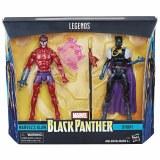 Marvel Legends Black Panther Klaw and Shuri Action Figure 2 Pack
