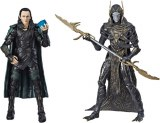 Marvel Legends Avengers Iinfinity War Loki and Corvus Glaive Action Figure 2 Pack