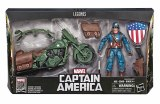 Marvel Legends 80th Anniv Captain America with Motorcycle AF