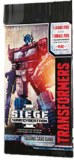 Transformers TCG War for Cybertron Trilogy I Siege Booster Pack