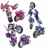 Transformers Studio Series Deluxe Class Chromia/Arcee/Elita-1 Action Figure Set