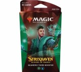 Magic the Gathering Strixhaven Theme Boosters Green Blue