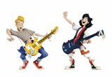 Bill and Ted Wyld Stallyns Toony Action Figure Two Pack