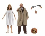Halloween 2 Laurie Strode/Dr Loomis 8 In Action Figure 2 Pack