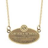 Xavier's School Plaque Necklace