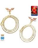 Wonder Woman Lasso Hoop Earrings
