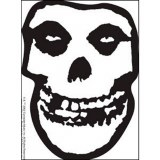 Misfits Clear Sticker