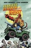 Fearless Dawn Meets Hellboy One-Shot Mannion Cvr