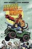 Fearless Dawn Meets Hellboy One-Shot Mignola Cvr