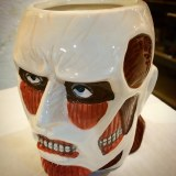 Attack On Titan Colossal Titan Head Molded Mug