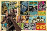 SALE Doctor Who Comic Strip Cover Poster