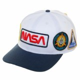 NASA Multi Patch Pre-Curved Bill Snapback
