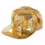 Infinity Gauntlet Faux Leather Snapback Hat
