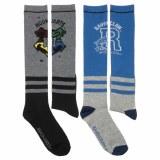 Harry Potter Hogwarts/Ravenclaw Knee High Socks 2-Pack