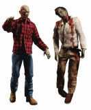 One-12 Collective Dawn of the Dead Plaid Shirt/Flyboy Zombie AF 2 Pk