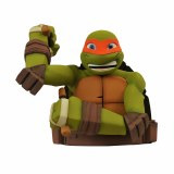 Teenage Mutant Ninja Tutles Michelangelo Bust Bank