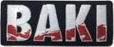 Baki Logo Patch