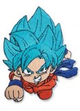 Dragon Ball Super Goku SSGSS Chibi Patch