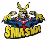 My Hero Academia All Might Smash Patch