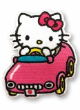 Hello Kitty in Car Patch