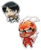 Attack on Titan Eren & Colossal Titan Pin Set