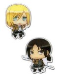 Attack on Titan Christa & Ymir Pins
