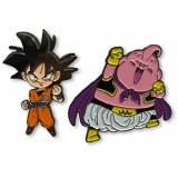 Dragon Ball Super Majin Buu Goku 2pk Pin Set