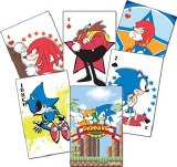 Sonic the Hedgehog Group Playing Cards
