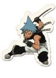 Soul Eater Black Star Sticker