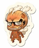 Attack On Titan SD 50m Titan Sticker