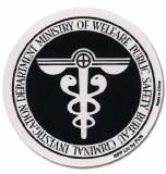 Psycho Pass Public Safety Bureau Sticker
