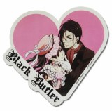 Black Butler Ciel Sebastian Heart Sticker