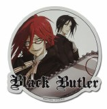 Black Butler Grell with Chainsaw and Sebastian Sticker