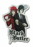 Black Butler Grell and Sebastian Sensei Sticker