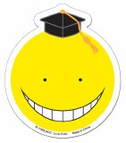Assassination Classroom Koro Sensei Yellow Sticker