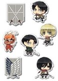 Attack on Titan Puffy Sticker Set