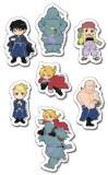 Fullmetal Alchemist Puffy Sticker Set