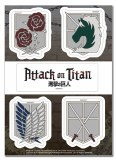 Attack on Titan Emblem Sticker Set