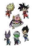 Dragon Ball Super Group Puffy Sticker Set