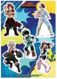 My Hero Academia Hero Costume Sticker Set